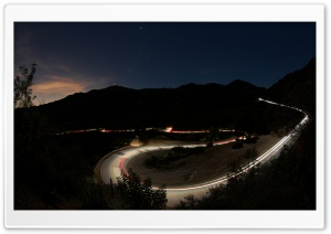 Mountain Road Nightlights