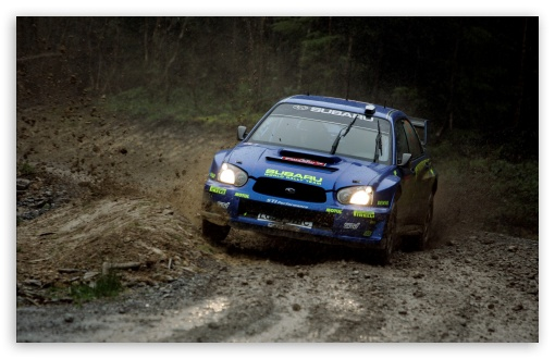 Download Subaru Impreza Rally UltraHD Wallpaper