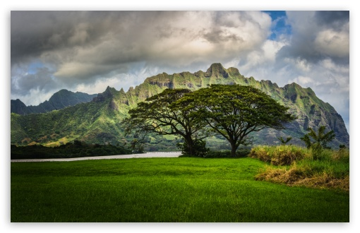 Download The Lost Cliffs of Oahu UltraHD Wallpaper