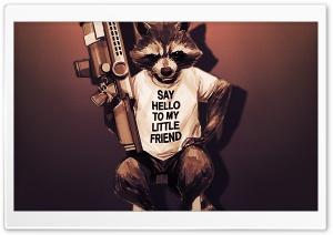 Rocket Raccoon - Guardians of...