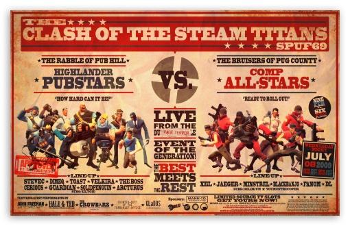 Download Team Fortress 2 Poster UltraHD Wallpaper