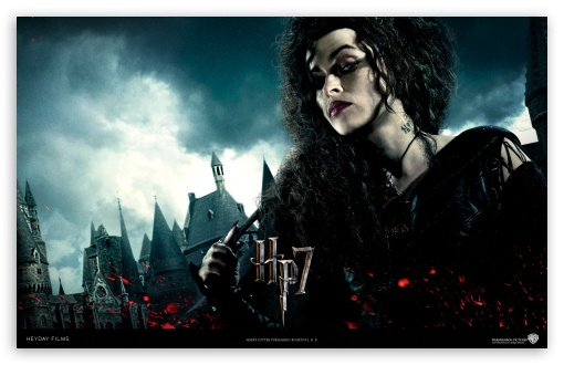 Download Harry Potter And The Deathly Hallows - Bellatrix UltraHD Wallpaper