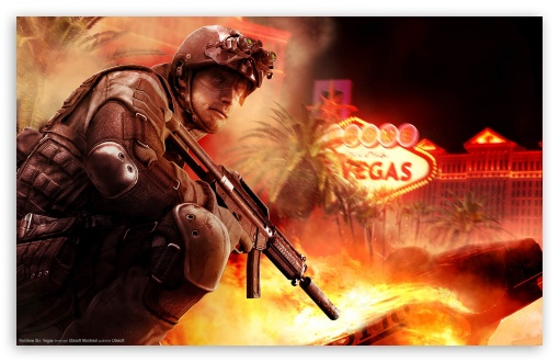 Download Rainbow Six Vegas UltraHD Wallpaper