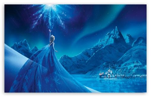 Download Elsa - Frozen UltraHD Wallpaper
