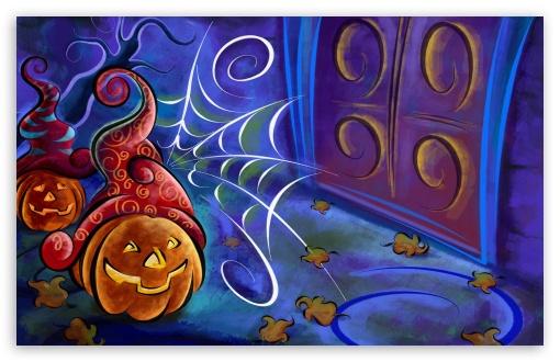 Download Halloween Pumpkin High Quality Screen UltraHD Wallpaper