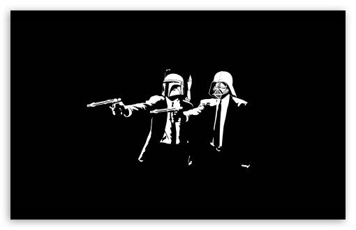 Download Star Wars Pulp Fiction UltraHD Wallpaper