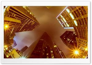 New York City Buildings Evening