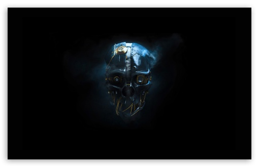 Download Dishonored Blue UltraHD Wallpaper