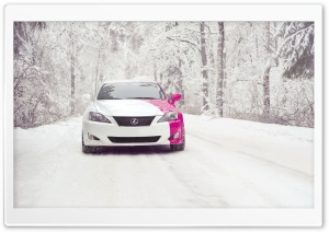 Lexus IS 250 Snow