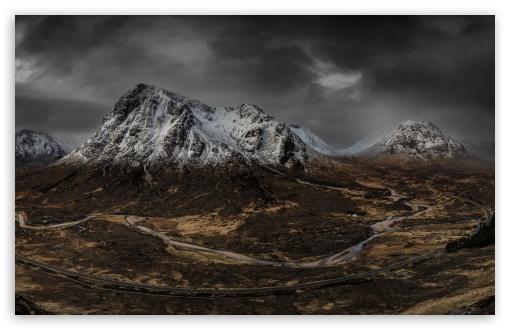 Download Beautiful Mountain View, Nature Landscape UltraHD Wallpaper