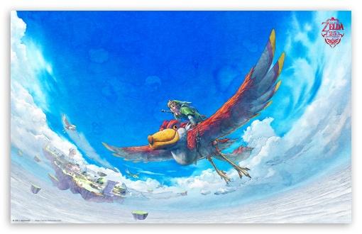Download Zelda Skyward Sword UltraHD Wallpaper
