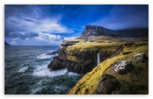 Download Faroe Islands North Atlantic UltraHD Wallpaper