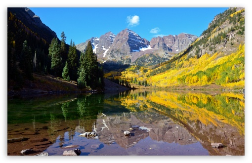 Download Spectacular Mountain Landscape UltraHD Wallpaper