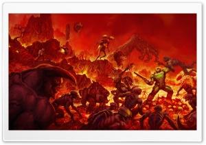 Doom 2016 video game Hell
