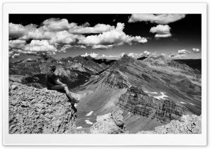 Colorado Pass Black and White