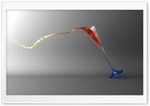 Falling Glass 3D
