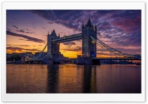 River Thames, Tower Bridge,...