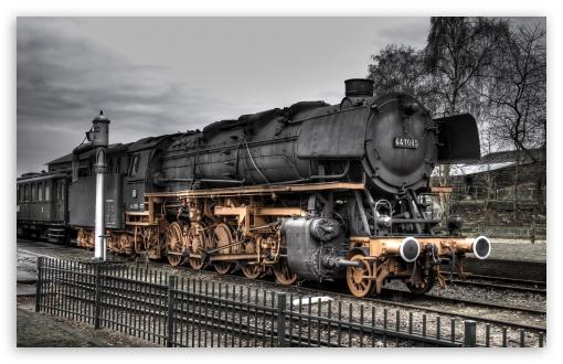 Download Old Locomotive UltraHD Wallpaper