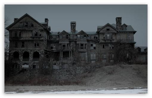 Download Creepy House UltraHD Wallpaper