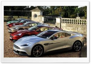 Aston Martin Vanquis Five Cars