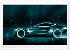 Tron Inspired Aston Martin...
