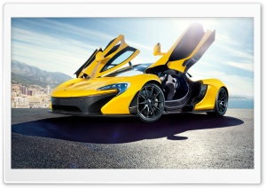 2014 McLaren P1 Yellow