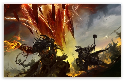 Download Guild Wars 2 Battleground UltraHD Wallpaper
