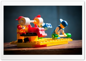 Lego Men Working Out