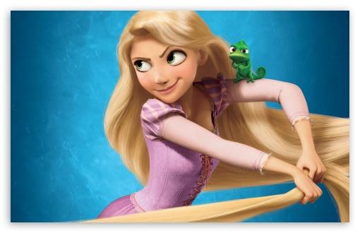 Download 2010 Tangled Rapunzel UltraHD Wallpaper