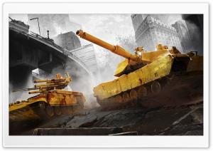 Armored Warfare City Battle