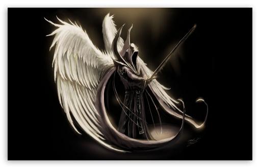 Download Fallen Angel Art UltraHD Wallpaper