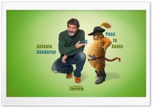 Antonio Banderas as Puss in...