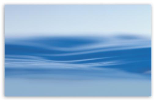 Download Blue Water Surface UltraHD Wallpaper