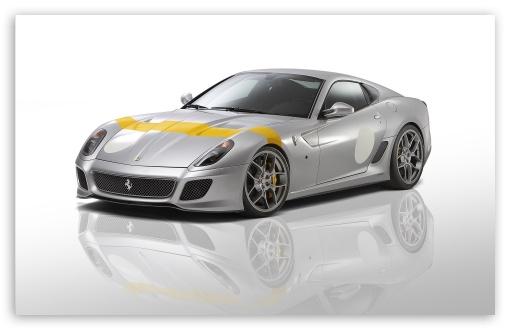 Download Ferrari 599 GTO Novitec UltraHD Wallpaper