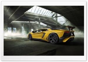 Yellow Lamborghini Aventador...