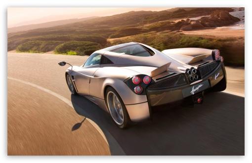 Download Pagani Huayra Speedcam UltraHD Wallpaper