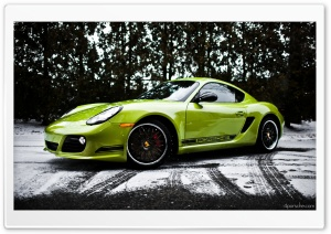 2012 Porsche Cayman R in the...
