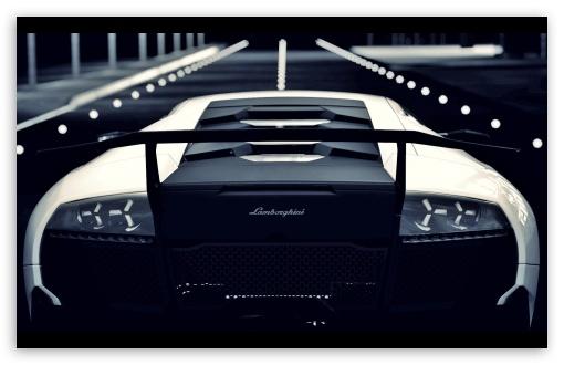 Download Lamborghini Murcielago Rear UltraHD Wallpaper