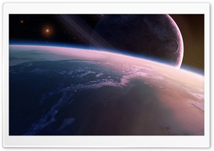 Satellite Between Planets