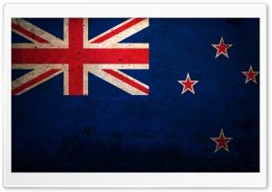 Grunge Flag Of New Zealand