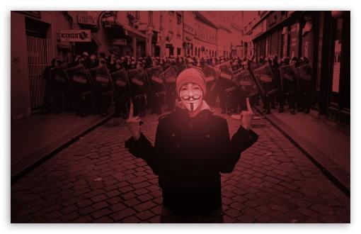 Download Street Riots UltraHD Wallpaper