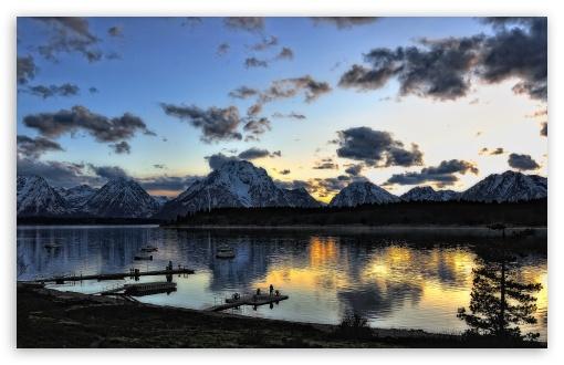 Download Grand Teton National Park Beautiful Landscape UltraHD Wallpaper