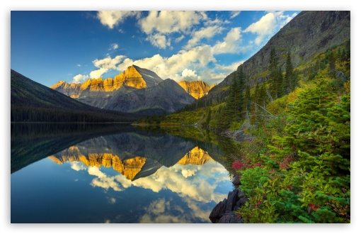 Download Morning Reflection UltraHD Wallpaper