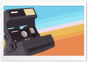 Polaroid Camera Vector Art