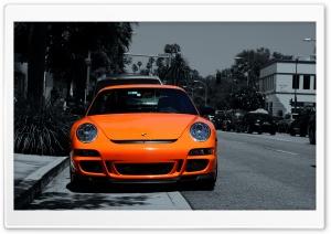 Orange Porsche 911