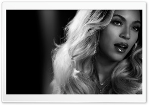 Beyonce Black And White