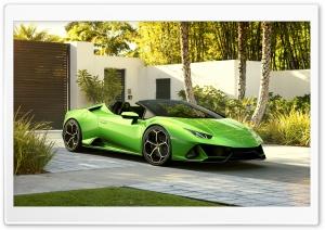 2019 Green Lamborghini...
