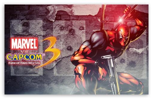 Download Marvel vs Capcom 3 - Deadpool UltraHD Wallpaper