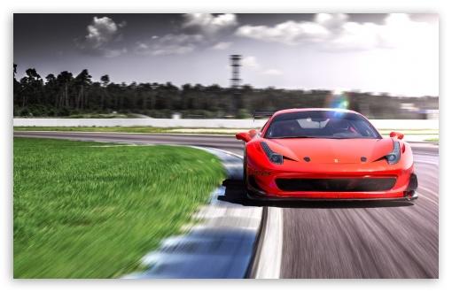 Download 2016 Racing One Ferrari 458 LOMA Wheels UltraHD Wallpaper