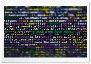 Computer Coding Screen...